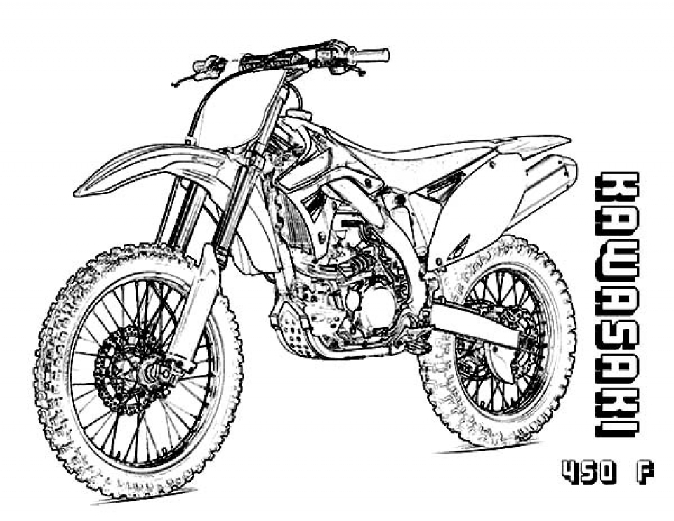 dirt bike pictures to color honda dirt bike coloring page free printable coloring pages color bike dirt pictures to