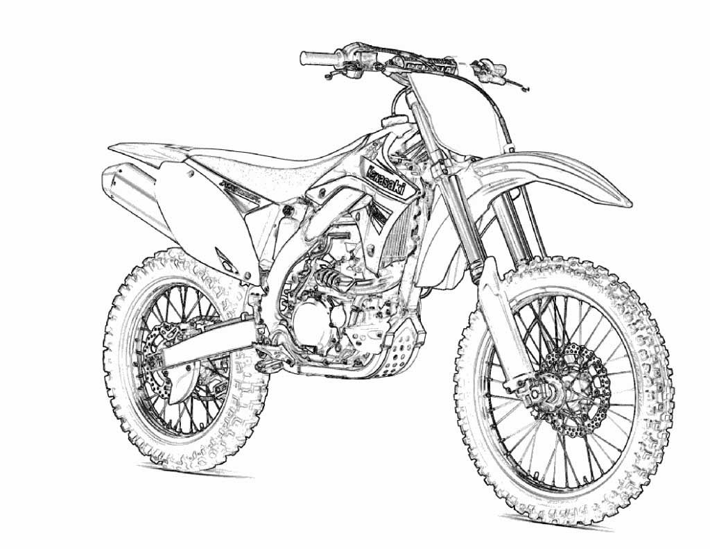 dirt bike pictures to color motocross bikes coloring pages coloring home bike color dirt to pictures