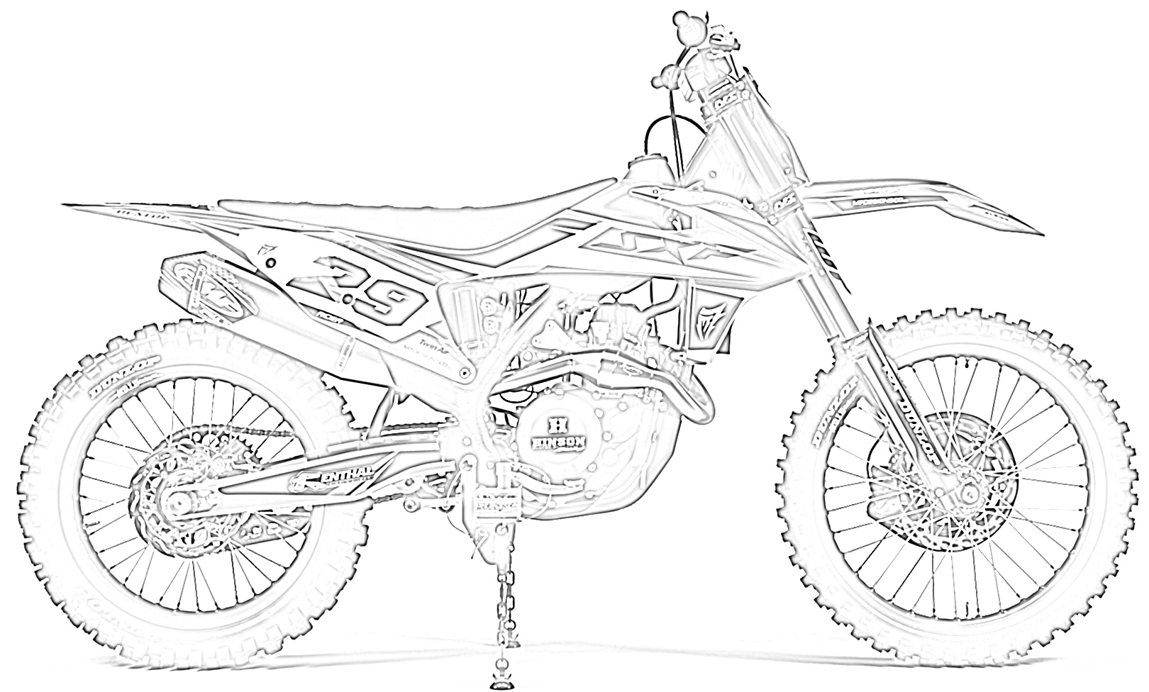 dirt bike pictures to color motocross bikes coloring pages coloring home to pictures dirt bike color