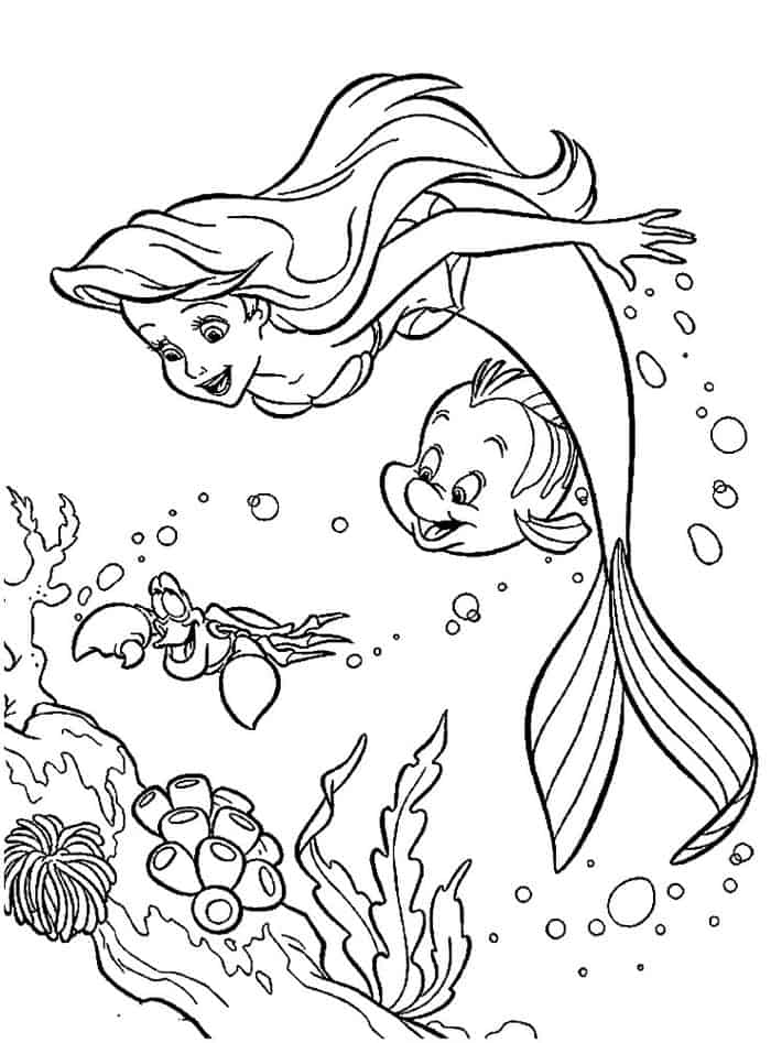 disney ariel coloring pages baby disney princesses coloring pages at getcoloringscom coloring ariel pages disney