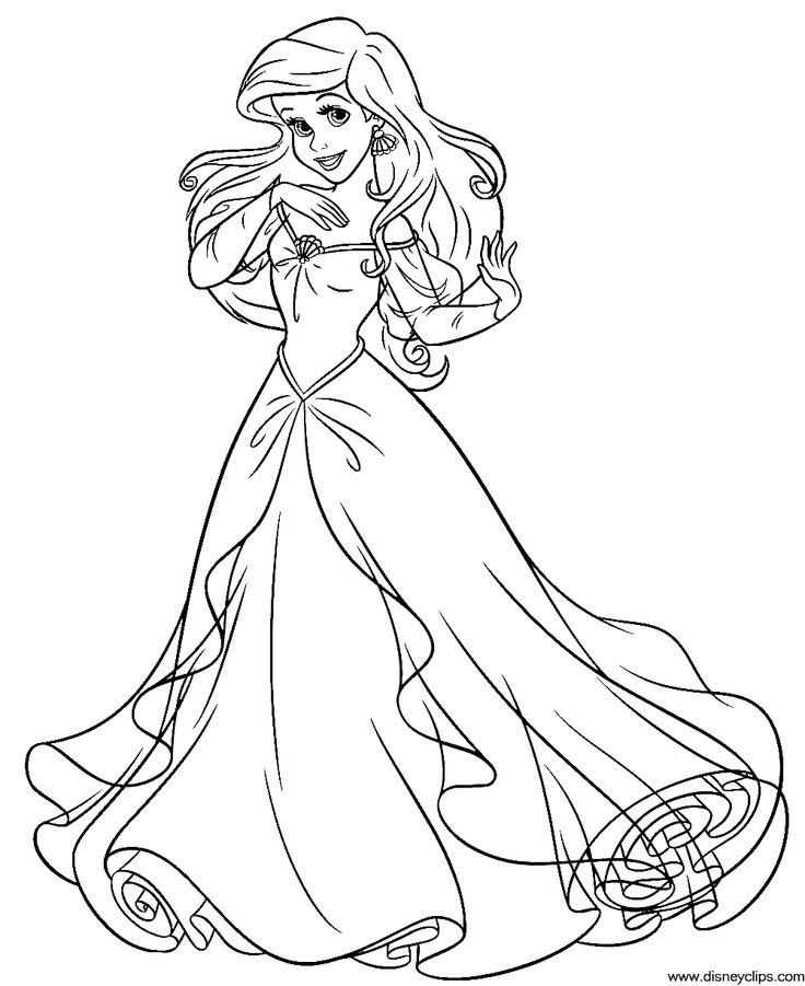 disney ariel coloring pages full page princess coloring pages coloring home ariel coloring disney pages