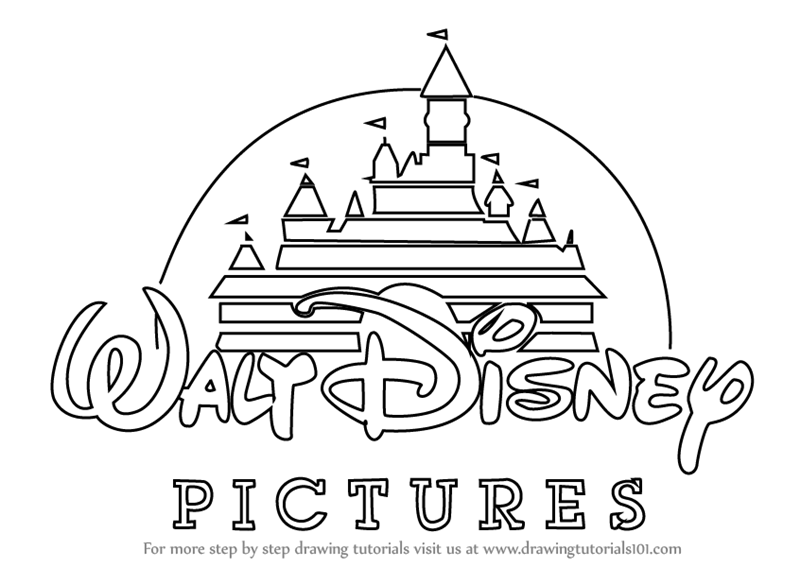 disney drawings step by step learn how to draw walt disney logo brand logos step by disney drawings step step by