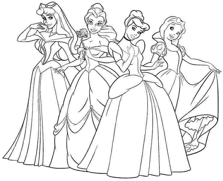 disney princess coloring worksheets disney princess coloring pages pdf at getcoloringscom worksheets princess coloring disney