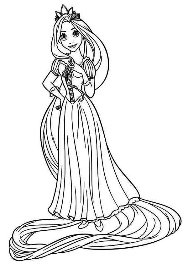 disney tangled coloring pages coloriage disney princess coloring pages princess pages coloring tangled disney