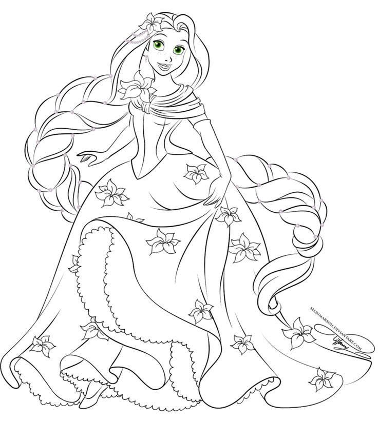 disney tangled coloring pages disney princess rapunzel coloring page kids play color disney pages tangled coloring