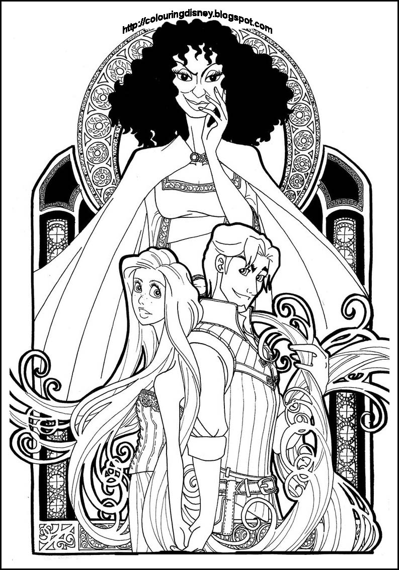 disney tangled coloring pages the best disney tangled rapunzel coloring pages pages tangled coloring disney