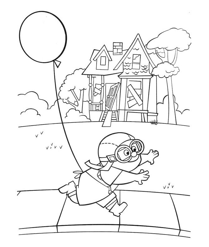 disney up house coloring pages disney39s up house on balloons coloring page disney pages up disney coloring house