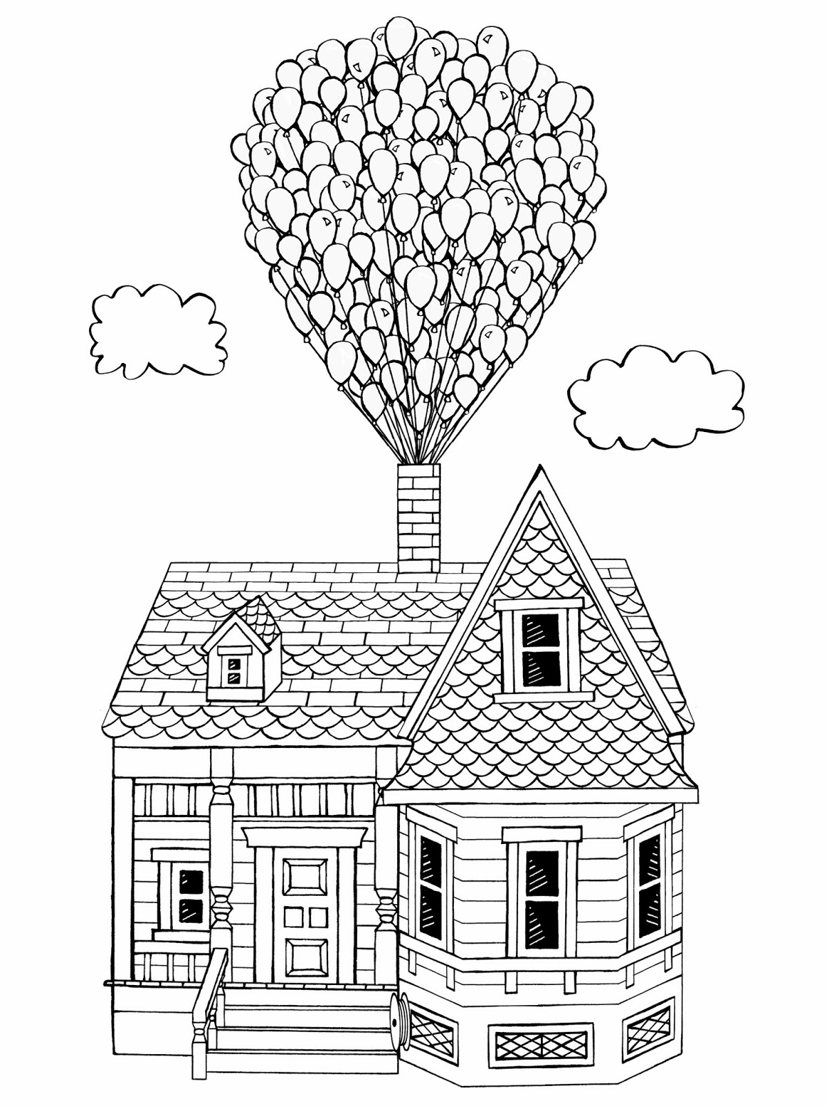 disney up house coloring pages peach bum there39s some catching up to do disney up pages house coloring