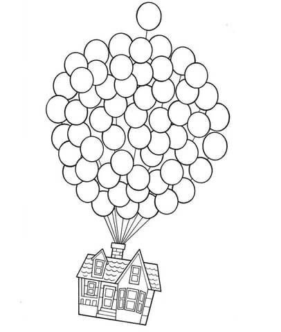 disney up house coloring pages pixar up house drawing at getdrawings free download disney pages house coloring up