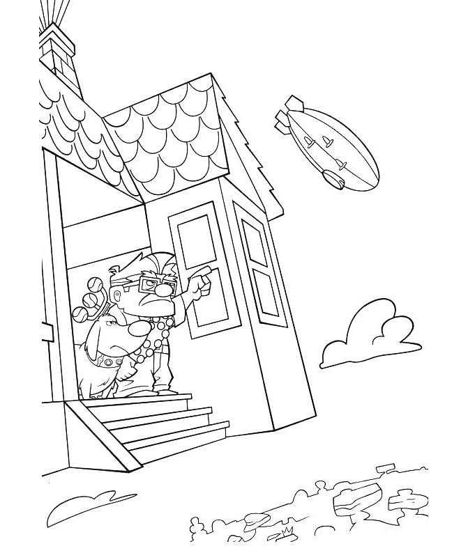 disney up house coloring pages pixar up house drawing at getdrawings free download house coloring pages disney up