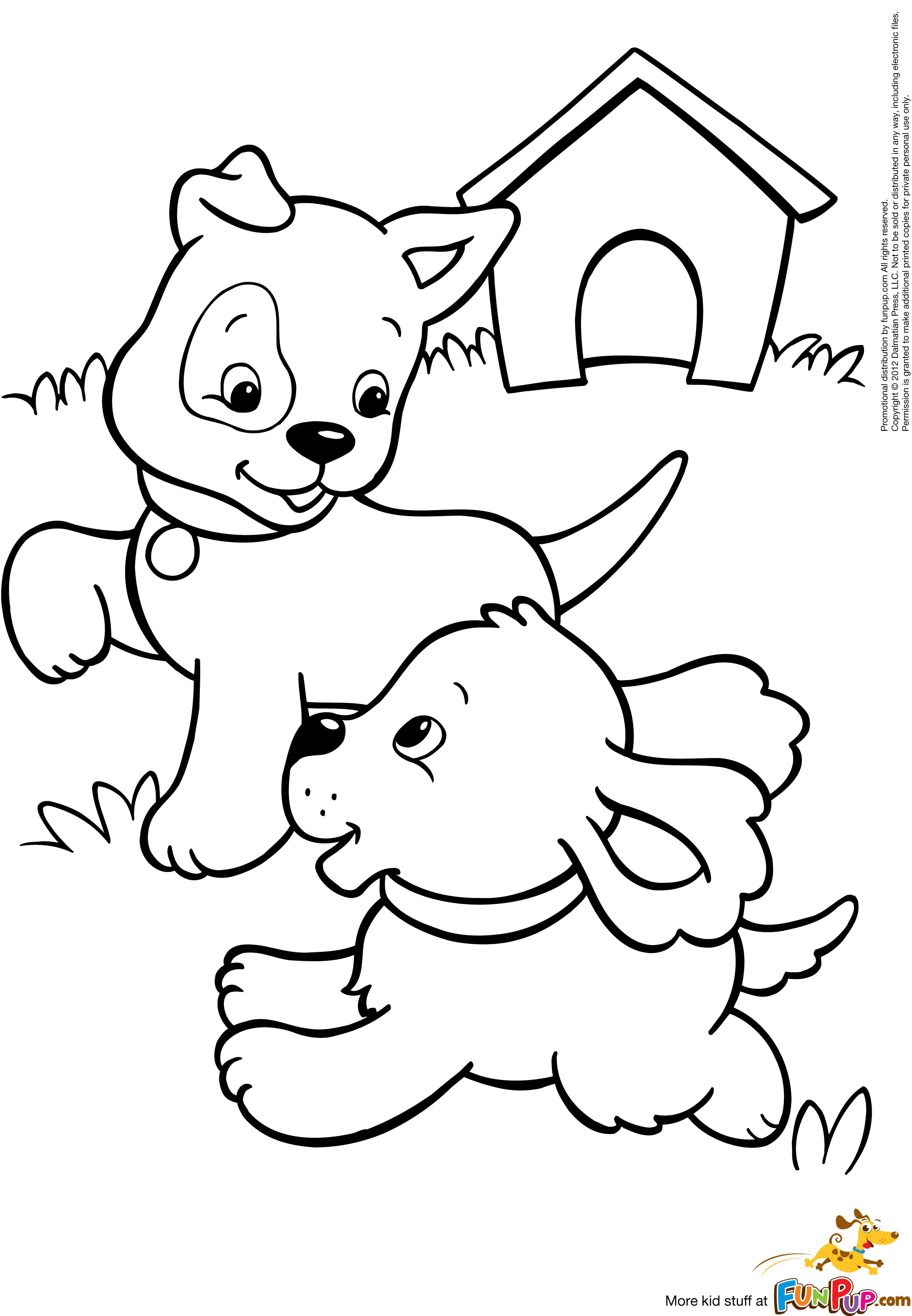 dog coloring in cute puppy cartoon images clipartsco dog in coloring