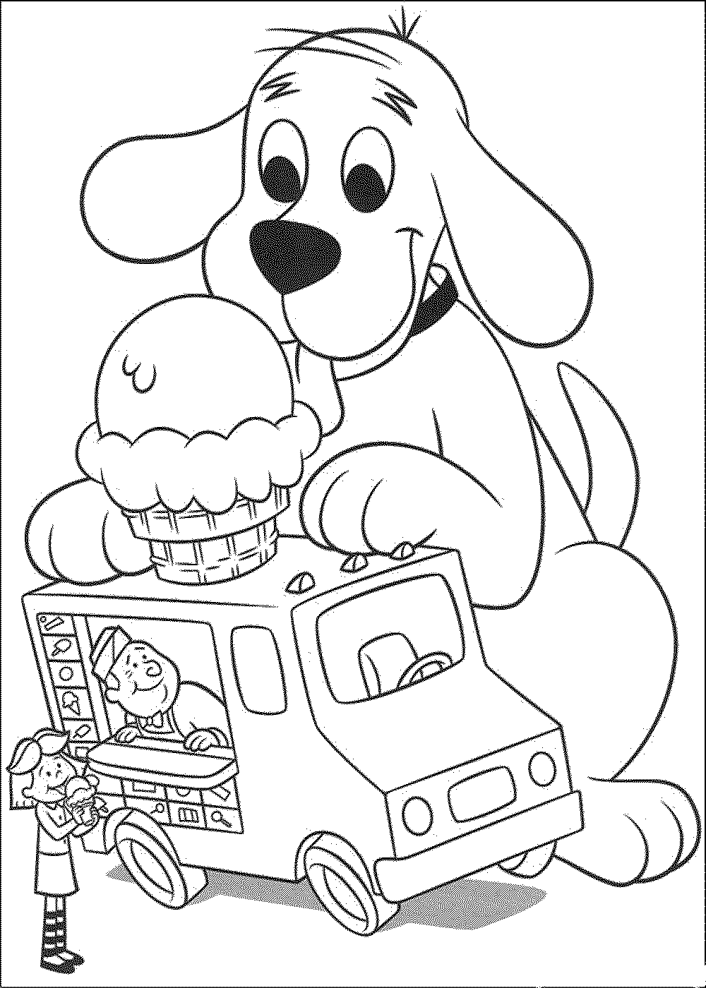 dog coloring in employ dog coloring pages for your childrens creative time in dog coloring