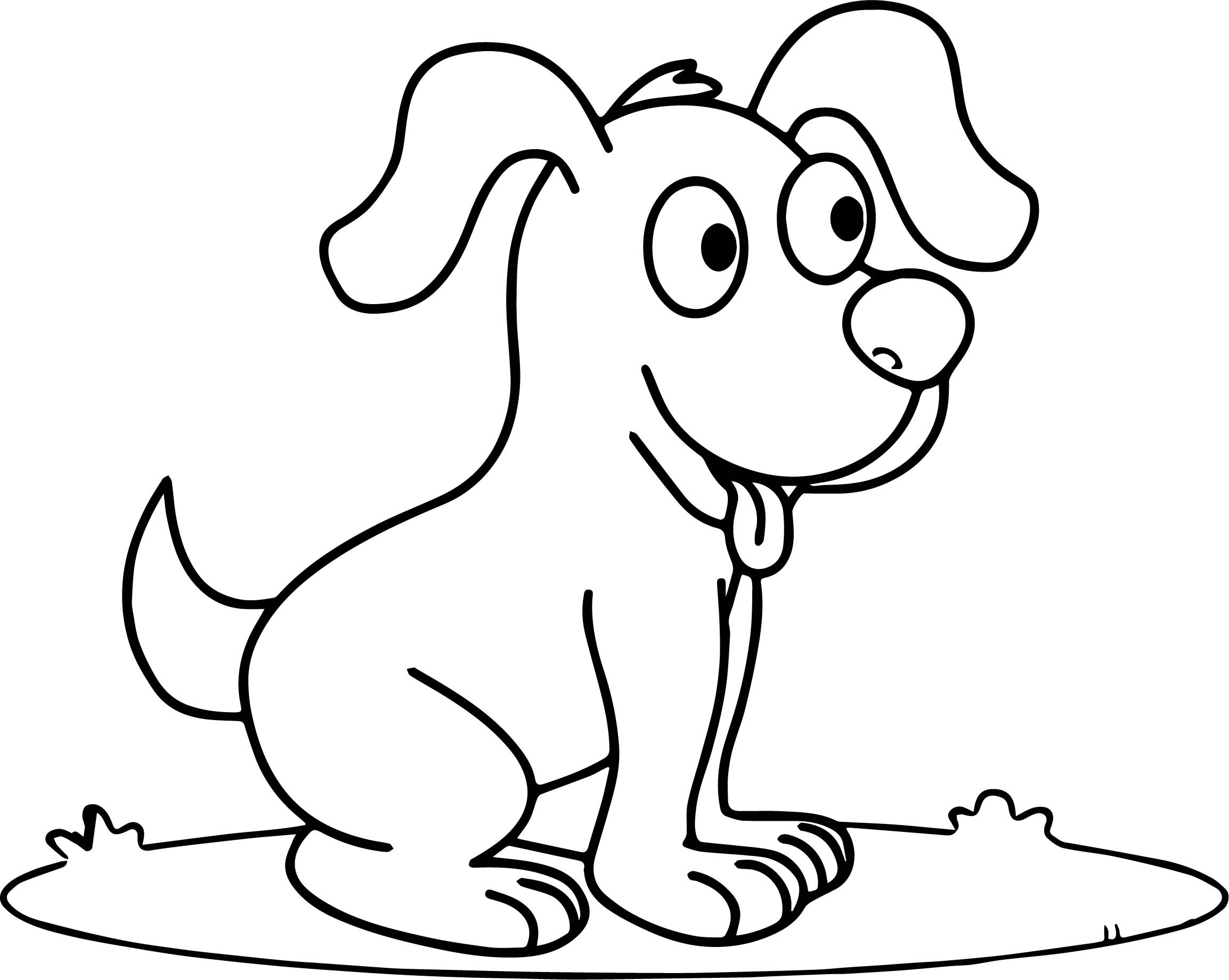 dog coloring in newfoundland dog coloring page at getcoloringscom free coloring dog in