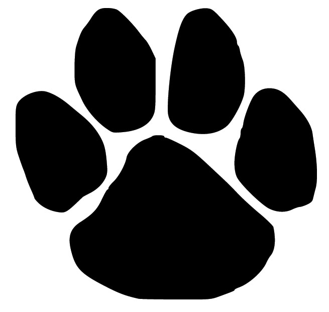 dog printables dog paw print silhouette at getdrawings free download printables dog