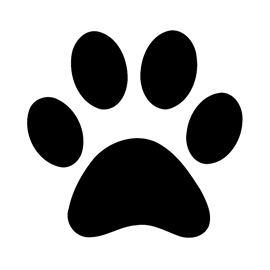 dog printables the best dog paw print stencil printable free mason website dog printables