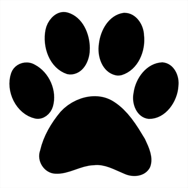 dog printables the best dog paw print stencil printable free mason website printables dog
