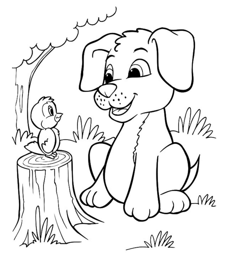 dogs pictures to color print download draw your own puppy coloring pages color dogs to pictures