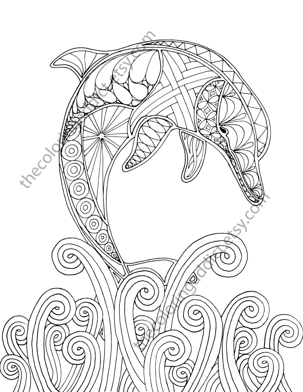 dolphins to color and print dolphin coloring page 02 tim39s printables and to color dolphins print