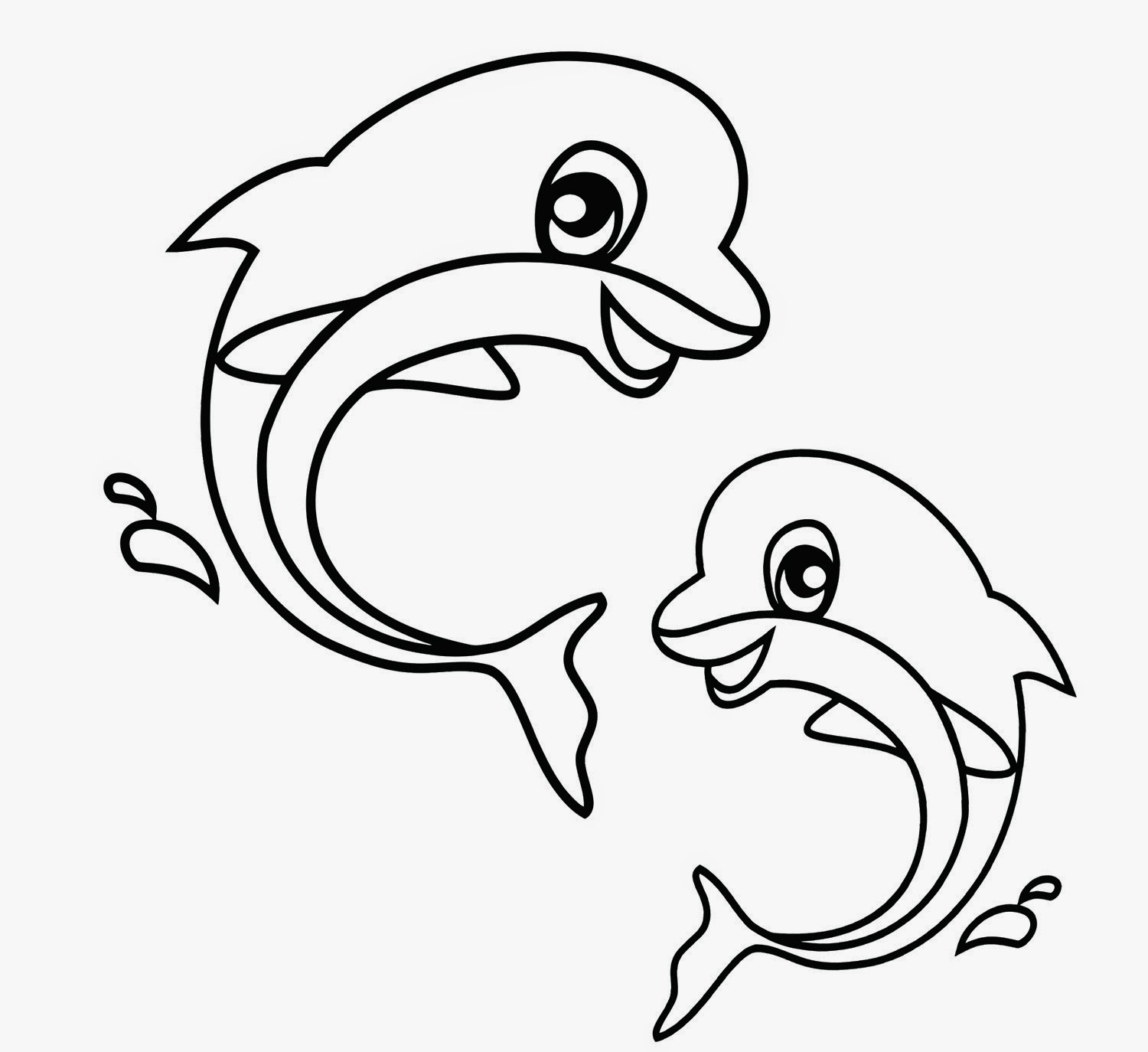 dolphins to color and print free dolphin clipart printable coloring pages outline to and dolphins print color