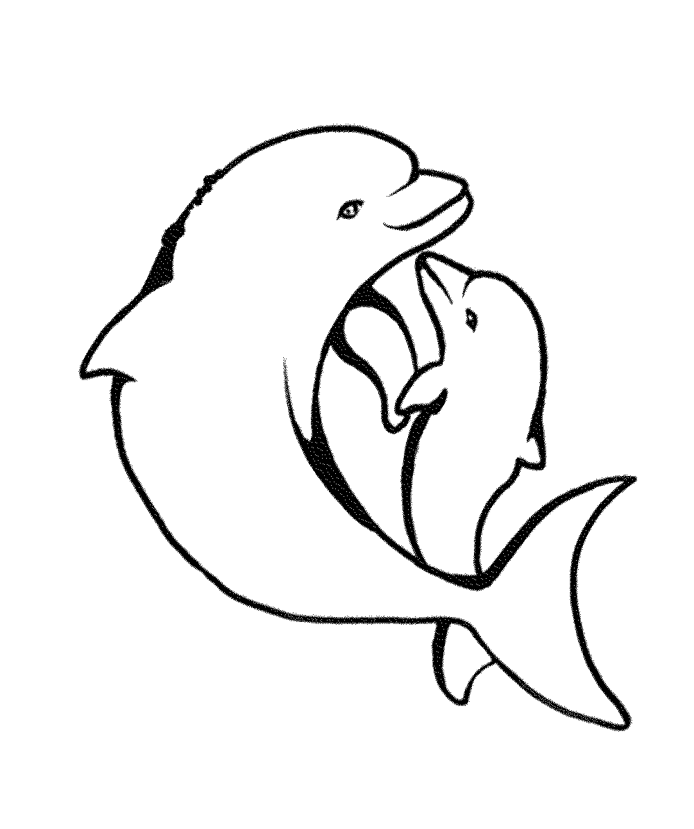 dolphins to color and print free easy to print dolphin coloring pages tulamama print to color dolphins and