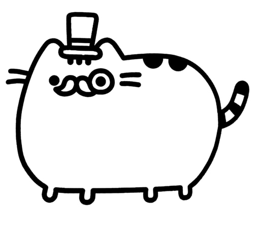 donut pusheen cat coloring pages pusheen coloring pages 70 pieces print for free wonder day coloring pages pusheen donut cat