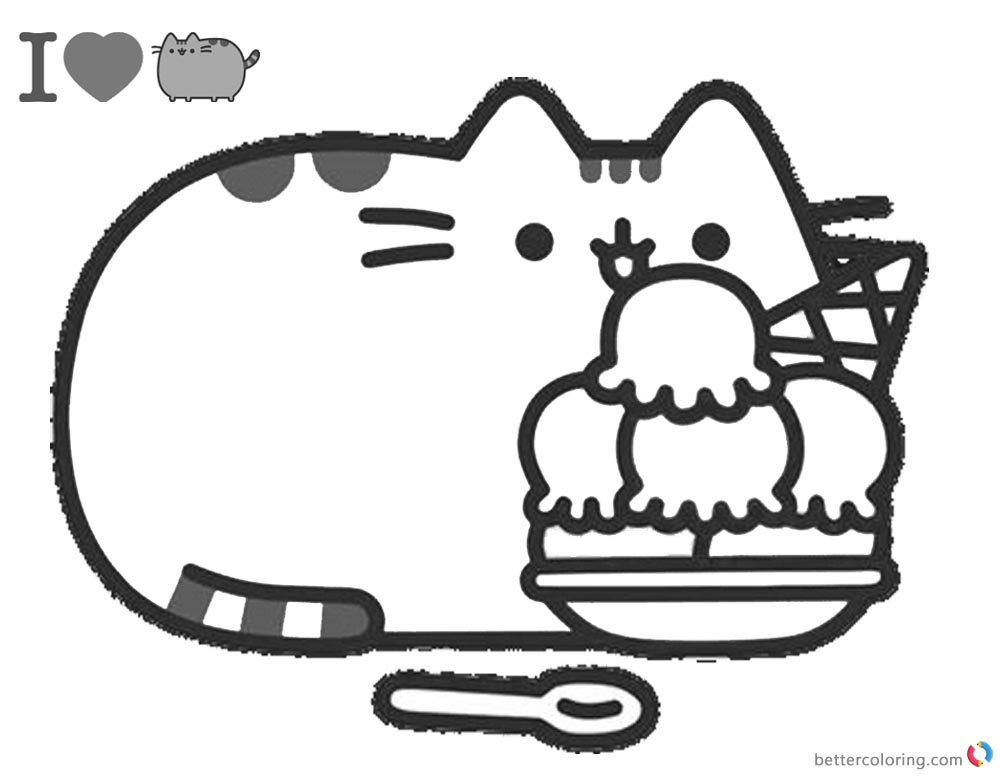 donut pusheen cat coloring pages pusheen coloring pages 70 pieces print for free wonder day coloring pusheen cat pages donut
