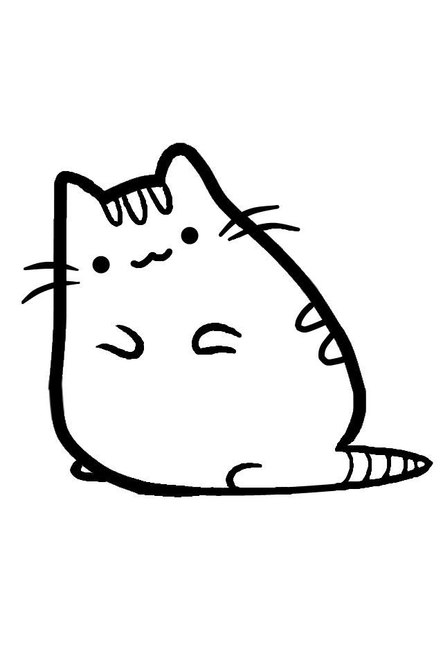 donut pusheen cat coloring pages pusheen coloring pages yummy iceream free printable donut pages pusheen coloring cat