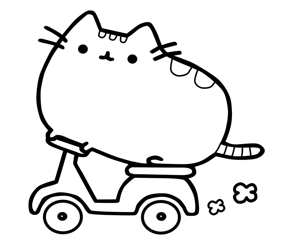 donut pusheen cat coloring pages pusheen donuts and unicorn doodle art doodling adult pusheen coloring donut cat pages