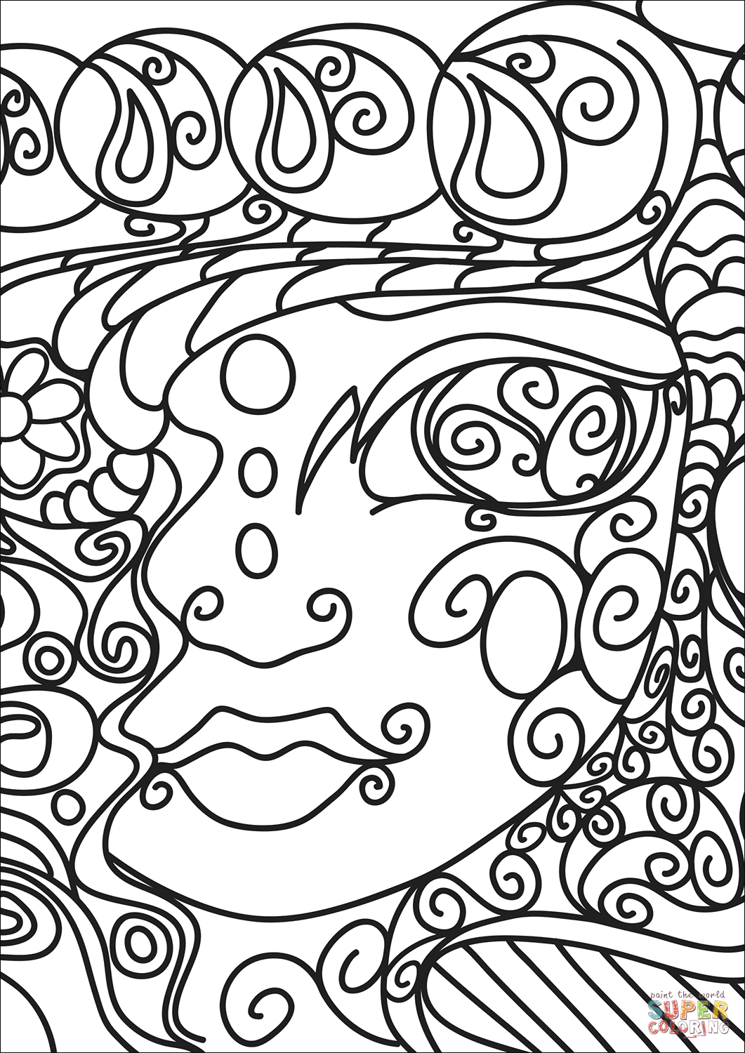 doodle art printables abstract doodle coloring page free printable coloring pages printables art doodle
