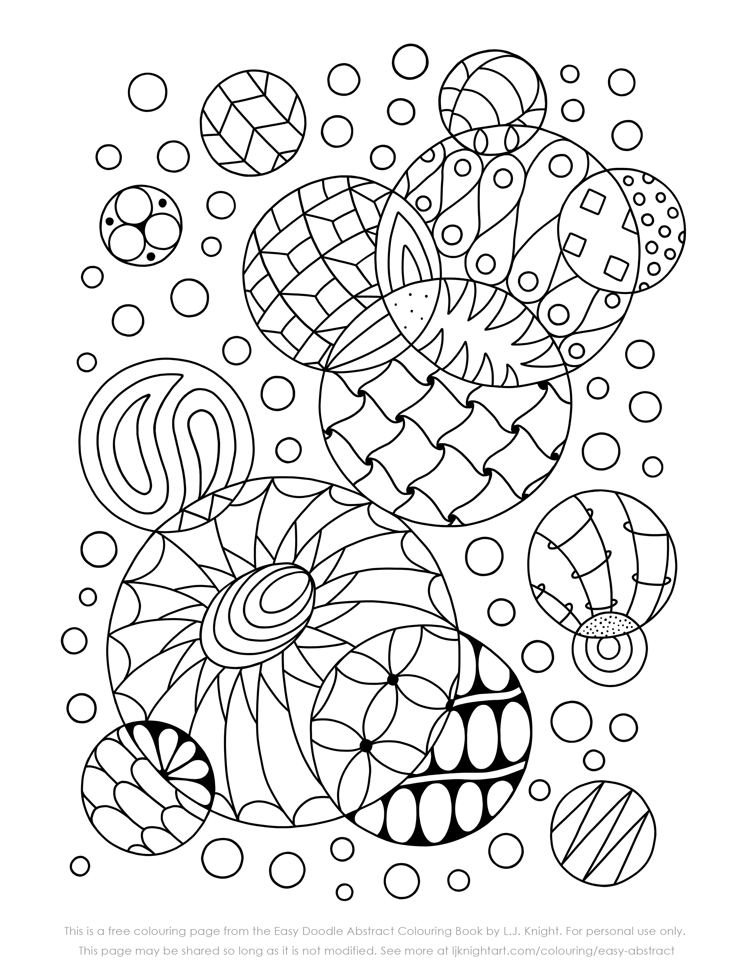 doodle art printables free colouring pages lj knight doodle art printables