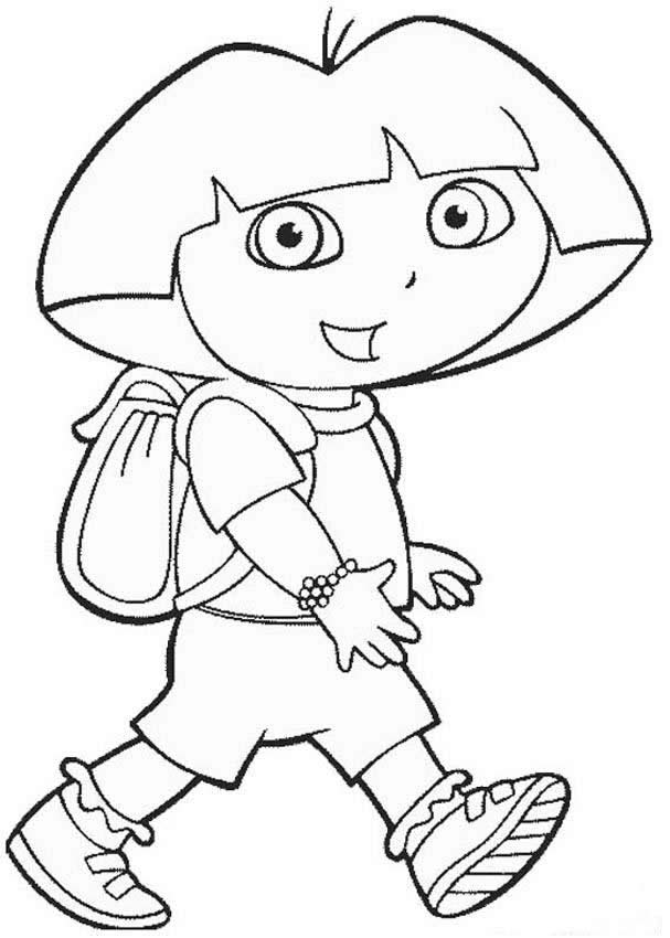 dora colouring pages printable top dora printable coloring pages derrick website printable dora colouring pages