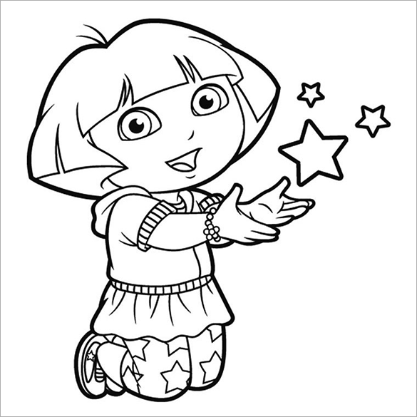 dora free coloring pages colour drawing free hd wallpapers dora and boots coloring dora pages coloring free