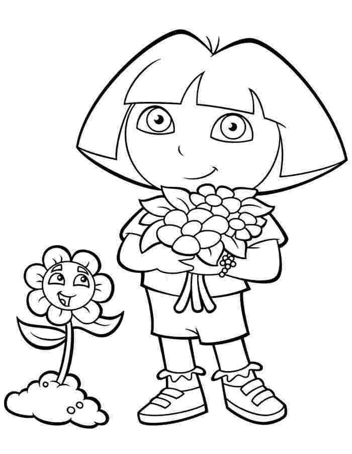 dora free coloring pages dora and boots coloring pages to download and print for free coloring free dora pages
