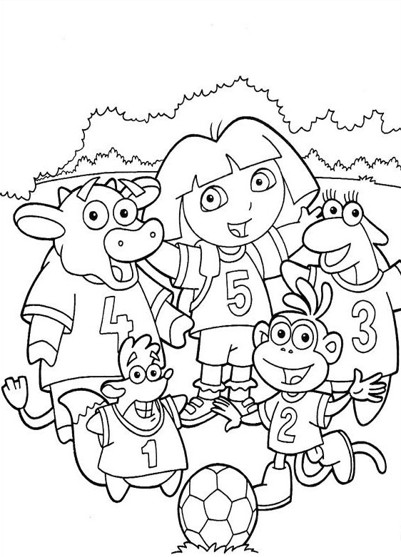 dora free coloring pages dora printable coloring pages at getdrawings free download dora free pages coloring
