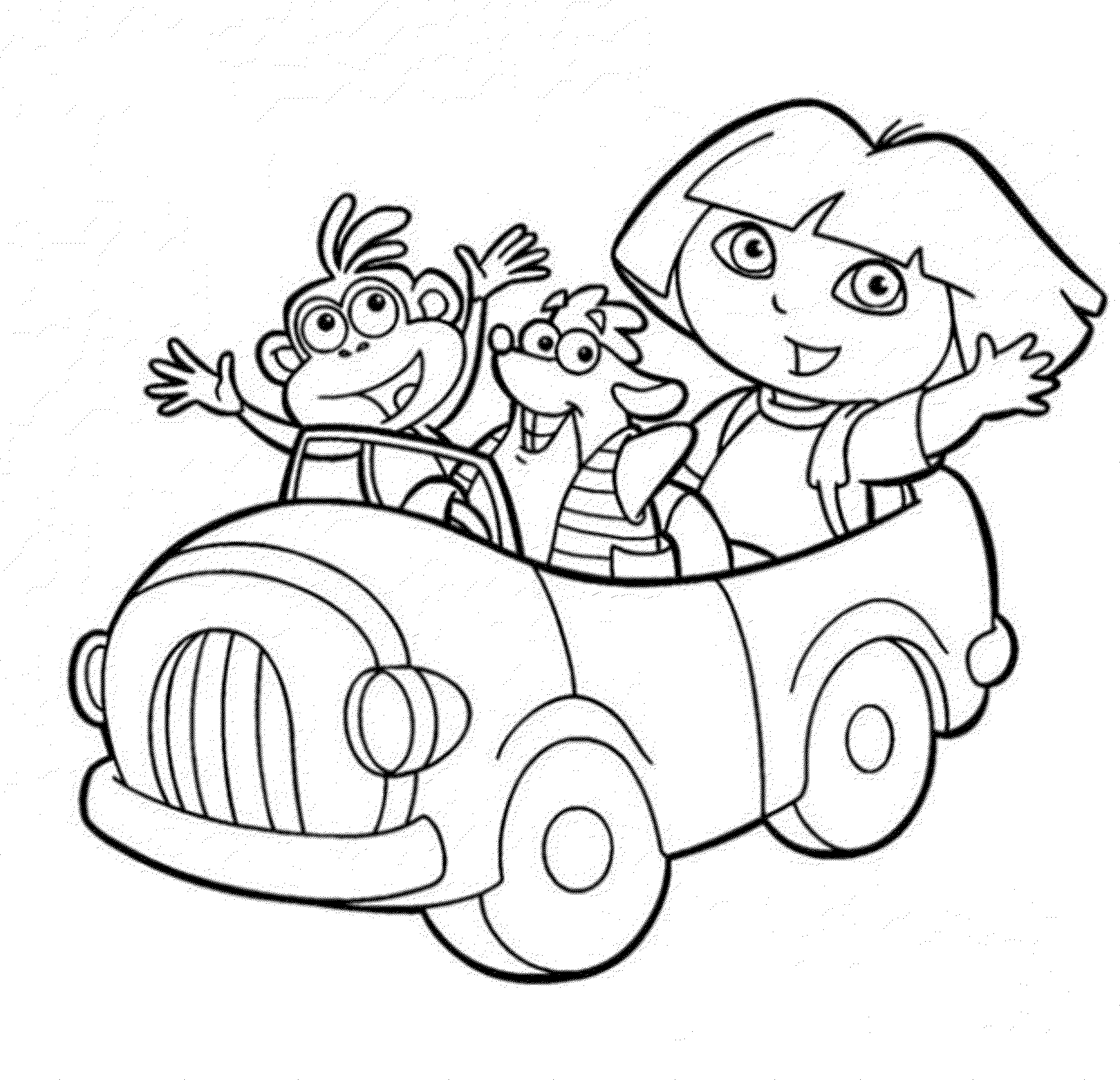 dora printables print download dora coloring pages to learn new things printables dora