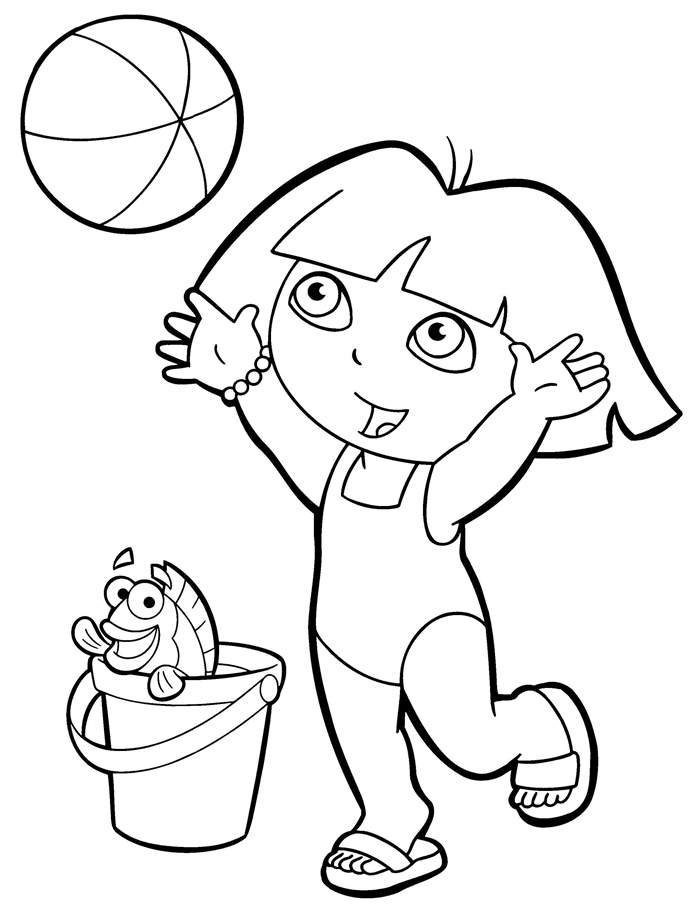 dora sketch for coloring princess drawing for kids at getdrawings free download coloring dora for sketch