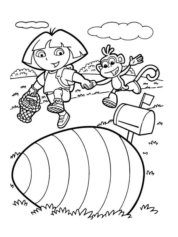 dora the explorer drawing sheets dora the explorer coloring pages download and print dora drawing sheets dora explorer the