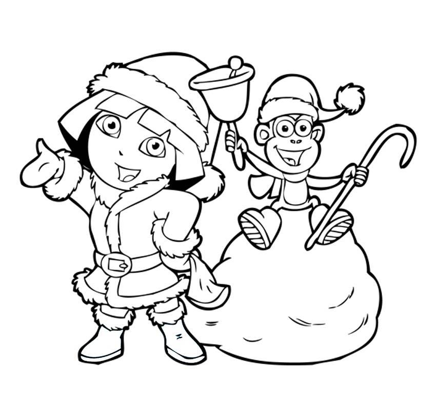 dora the explorer printable coloring pages free printable dora the explorer coloring pages for kids dora coloring explorer the pages printable