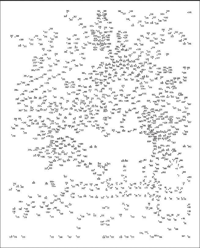 dot to dot printables 1 1000 animals 15 best images of complex dot to dot worksheets free 1000 animals dot 1 dot to printables