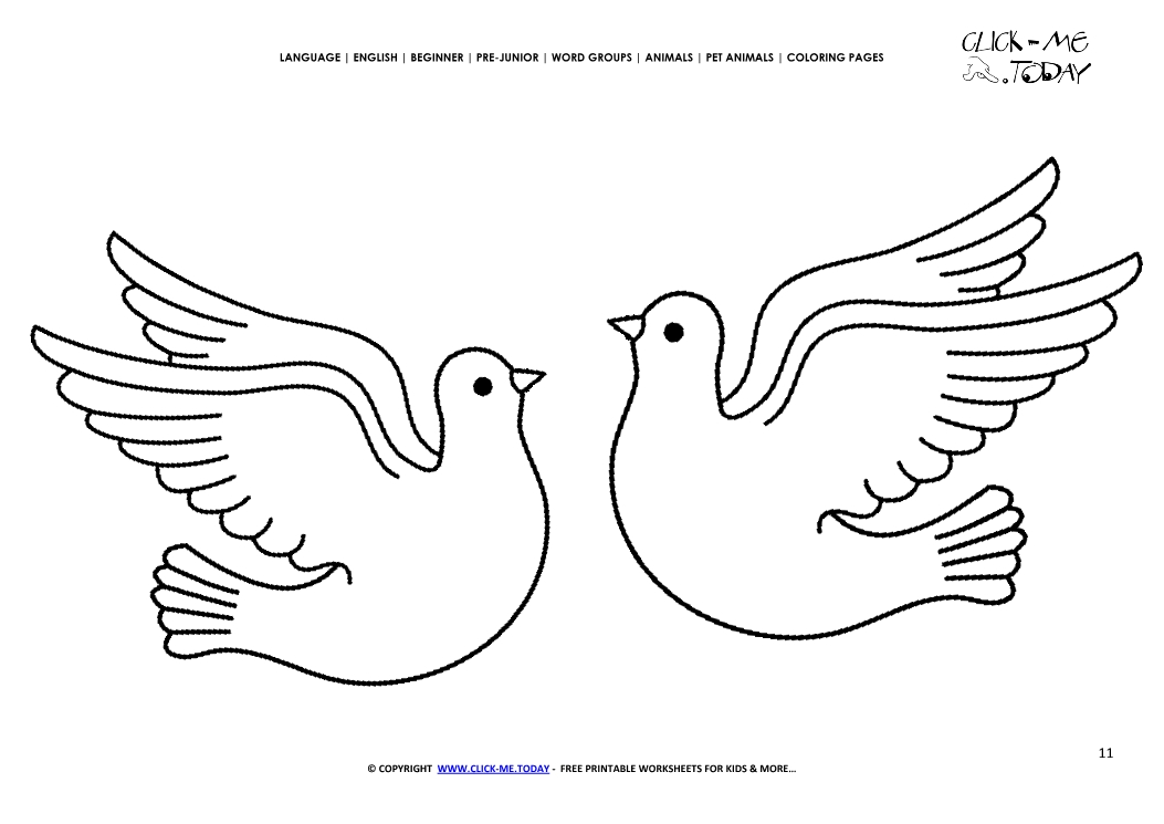 dove coloring pictures dove coloring page at getcoloringscom free printable pictures coloring dove