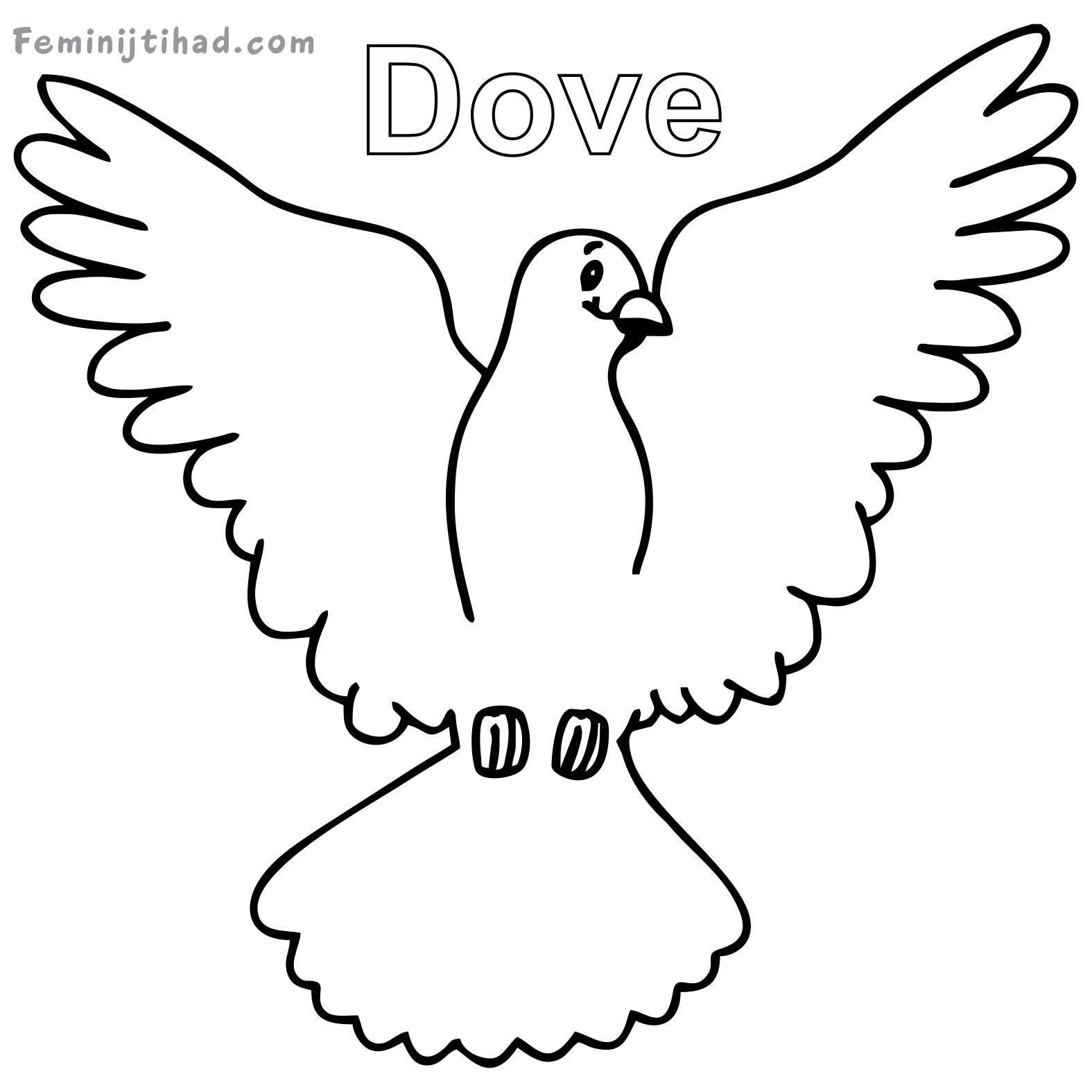 dove coloring pictures white dove coloring download white dove coloring for free dove coloring pictures
