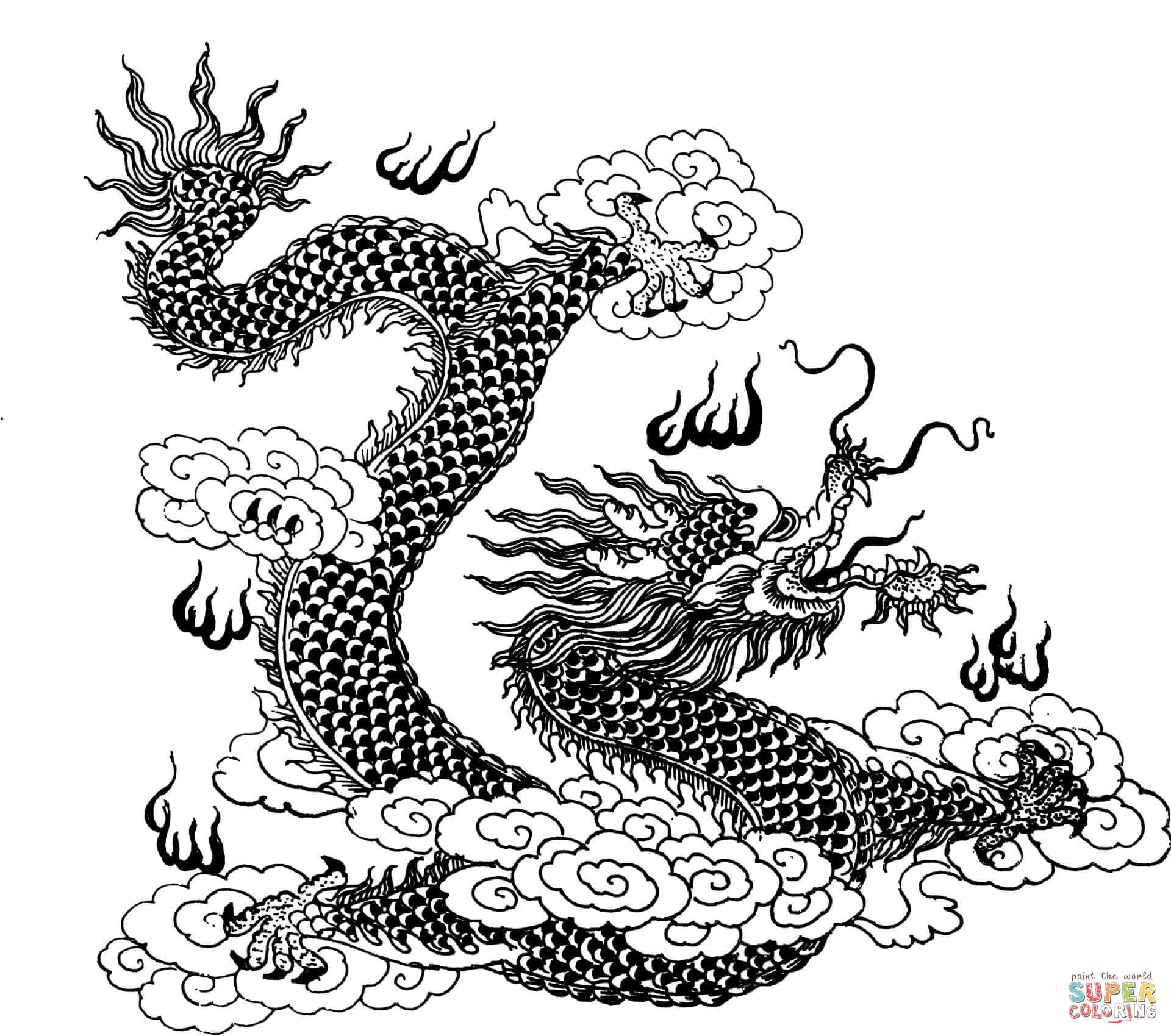 dragon coloring pages hard advanced dragon coloring pages at getcoloringscom free dragon coloring hard pages