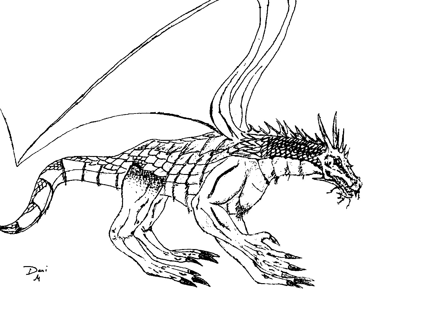 dragon colouring in pictures coloring page world scaly dragon landscape in dragon pictures colouring