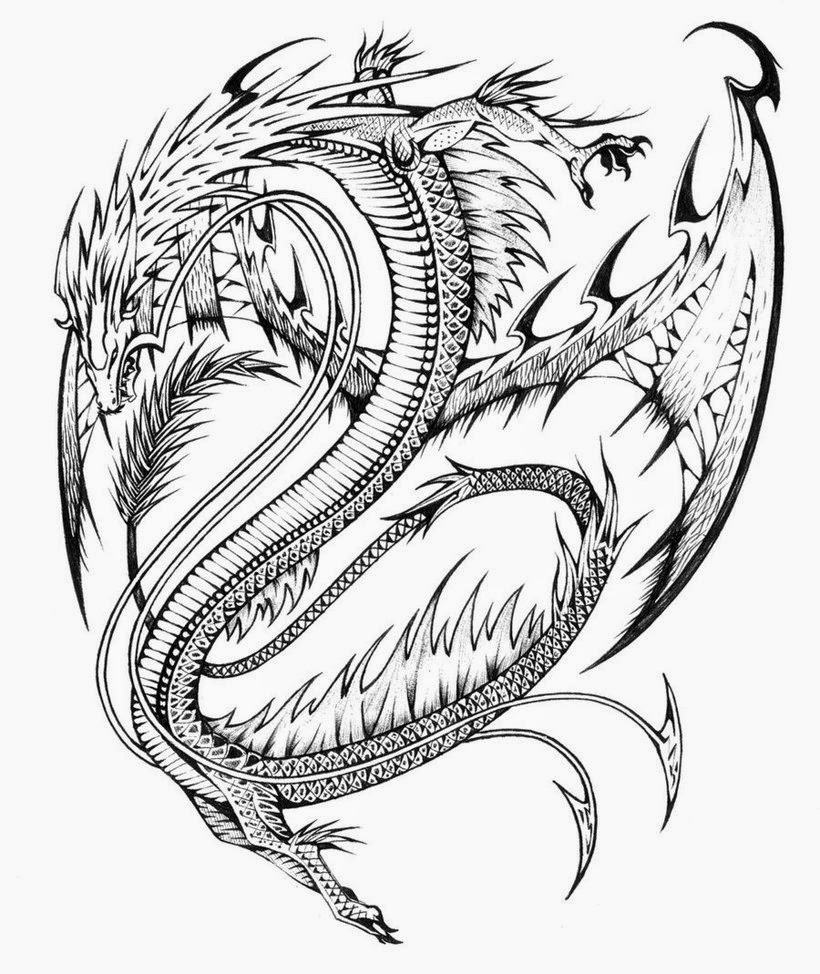 dragon colouring in pictures coloring pages dragon coloring pages free and printable pictures in colouring dragon