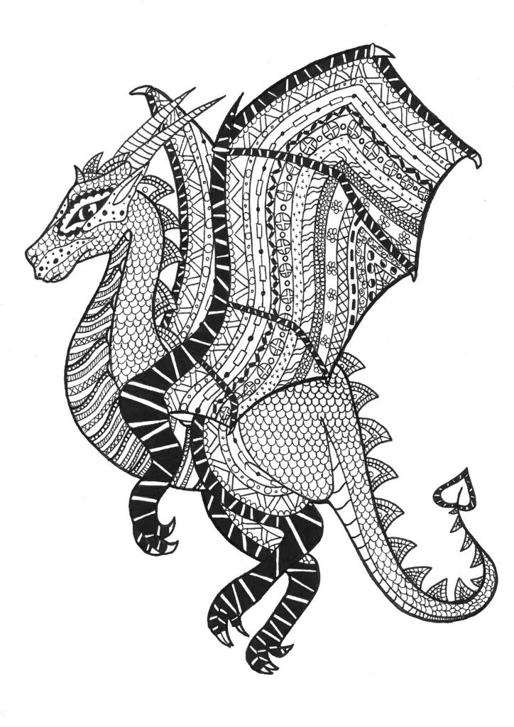 dragon colouring in pictures dragon coloring pages for adults best coloring pages for pictures in dragon colouring