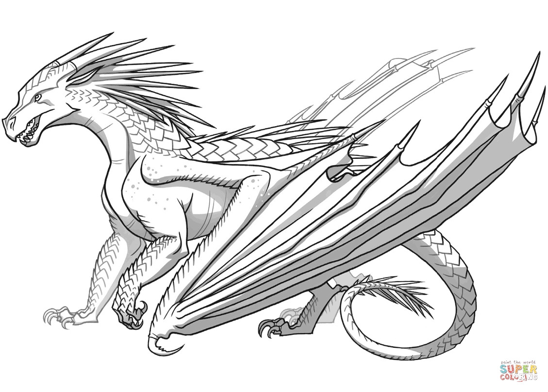 dragon colouring in pictures fire breathing dragon coloring page at getcoloringscom in colouring dragon pictures