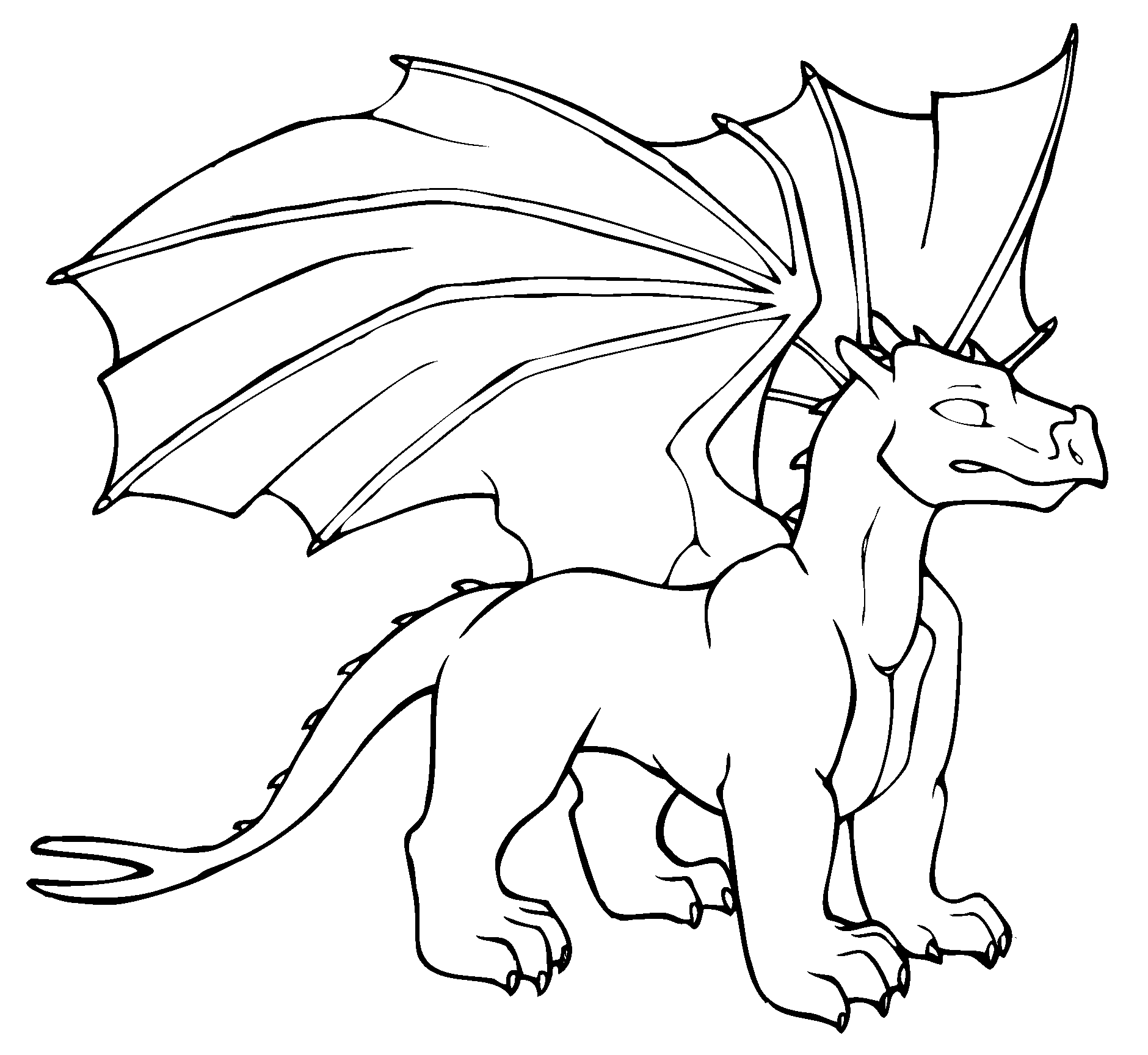 dragon colouring in pictures printable dragon coloring pages for kids cool2bkids pictures in dragon colouring