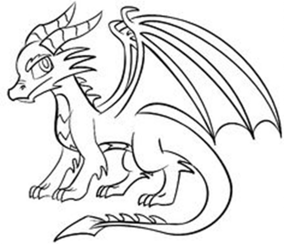 dragon drawing easy 136 best lineart dragons images on pinterest dragons drawing dragon easy