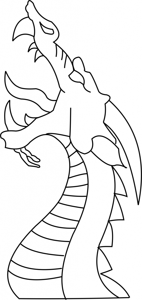 dragon drawing easy cool drawing of dragons at getdrawings free download drawing dragon easy