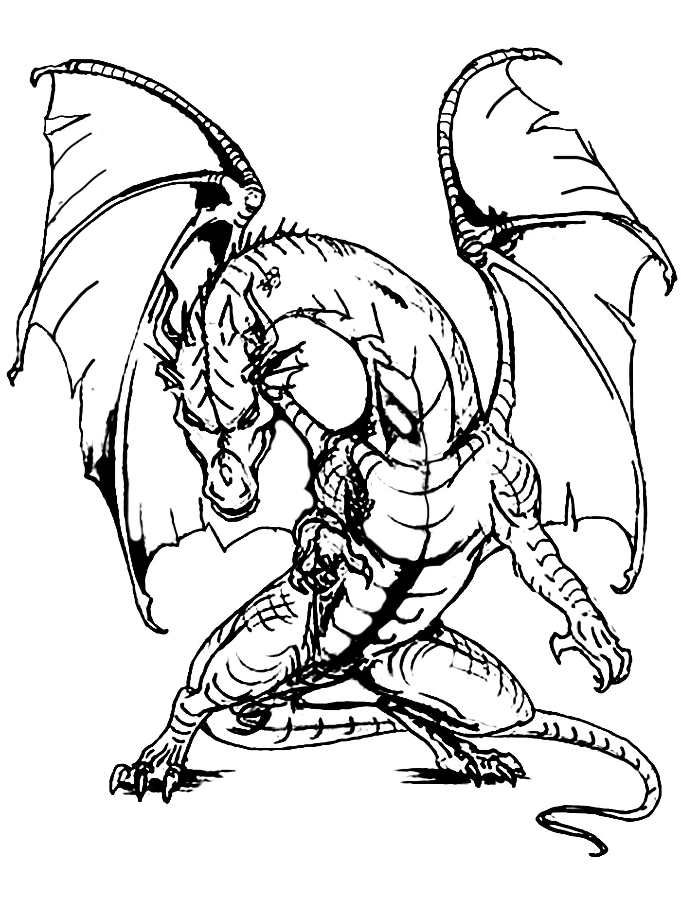 dragon pictures to color and print awesome dragon coloring pages at getcoloringscom free print and dragon to color pictures